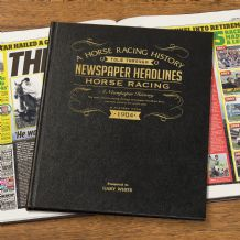 Horse Racing History - Newspaper Book